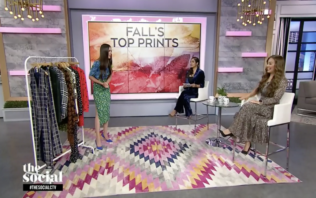 how to wear fall prints