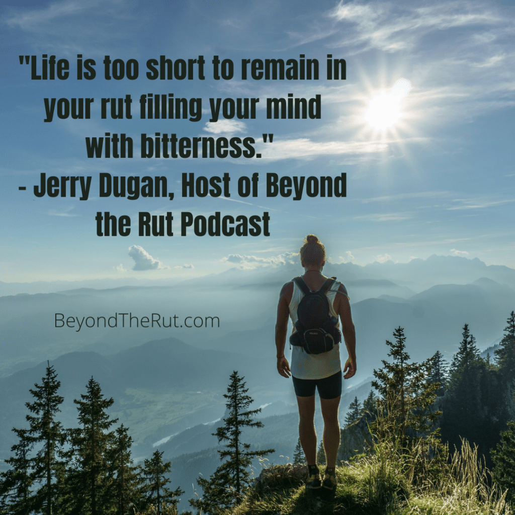 Life is too short to remain in your rut - marketing coach