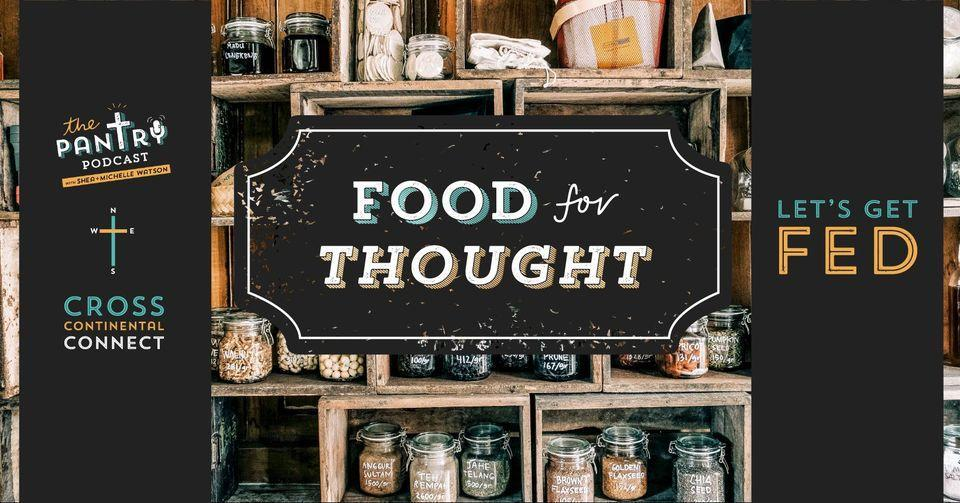 Visit Facebook Group The Pantry Podcast Commissary and create a positive mindset