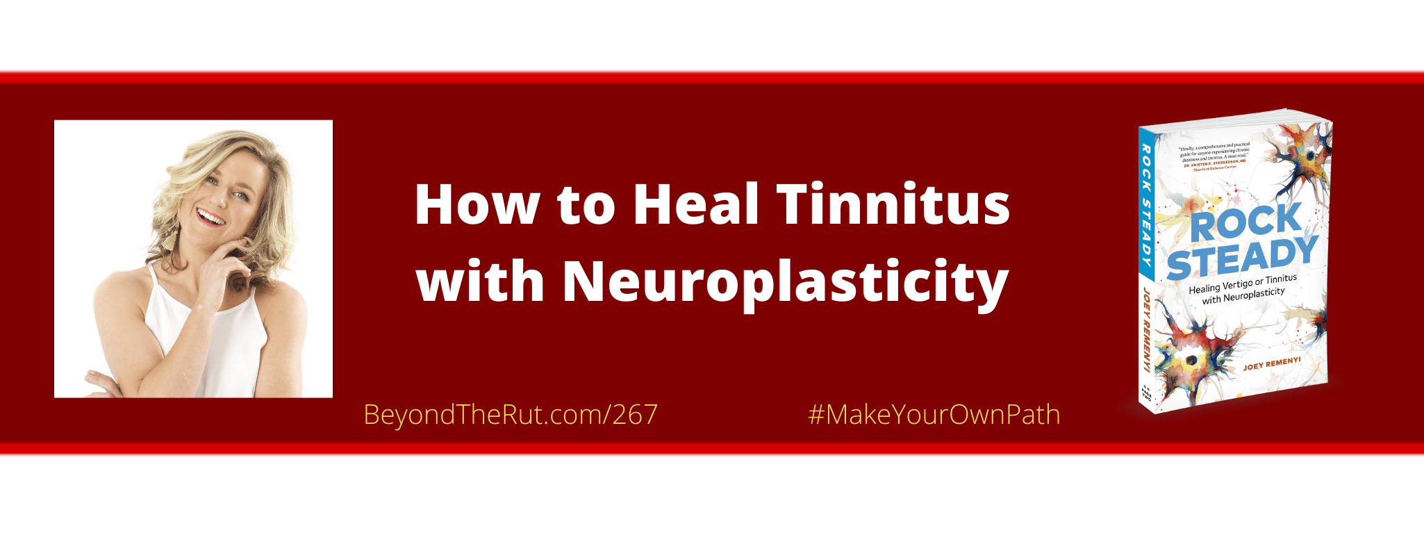 Joey Remenyi discusses how to heal tinnitus with neuroplasticity