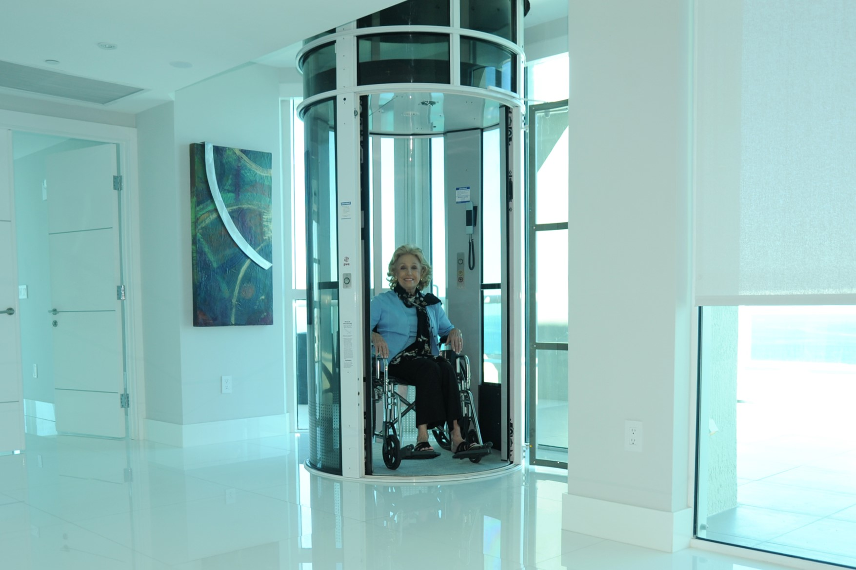 Pneumatic Home Elevator Vision 550 1