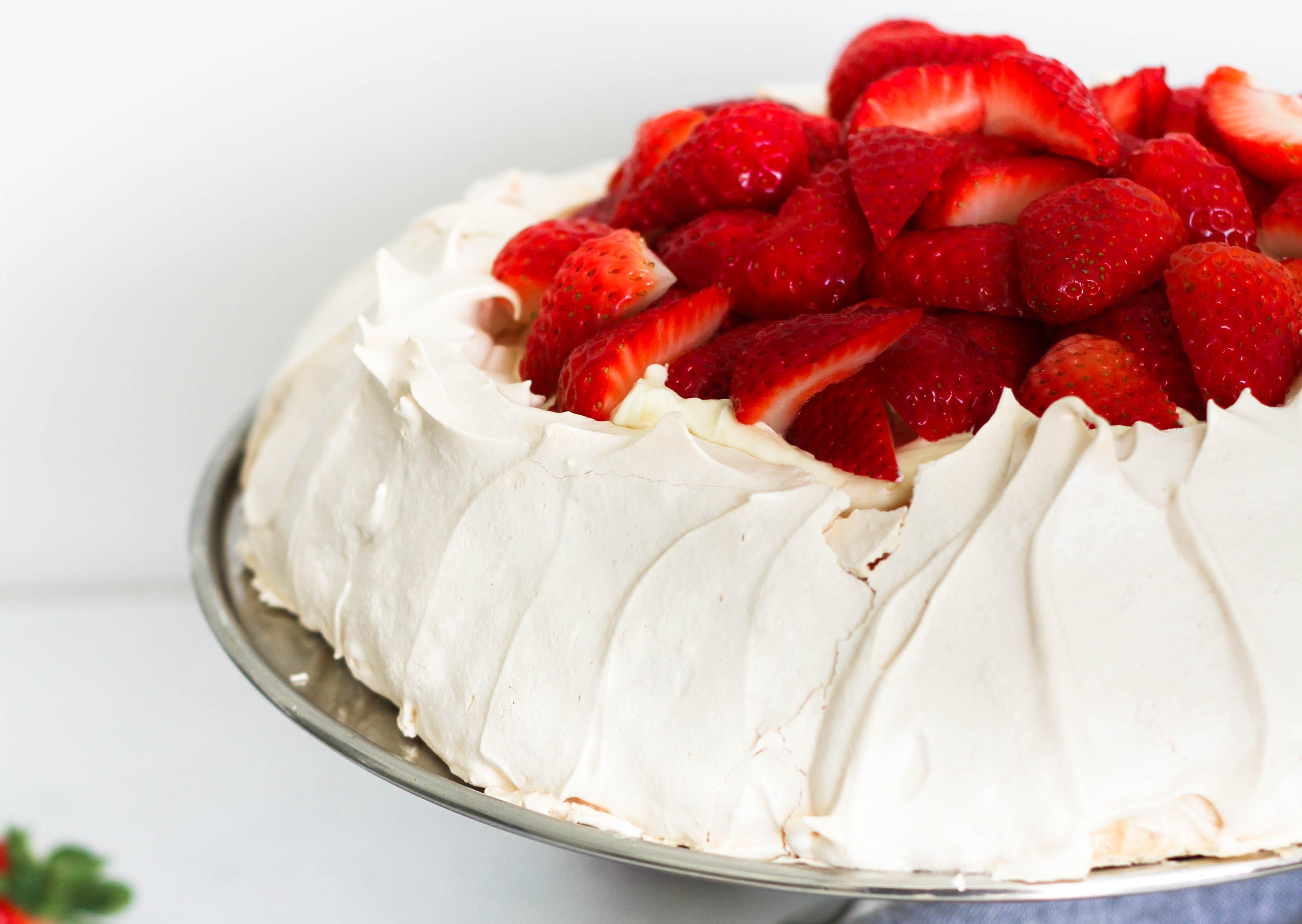 Strawberry Pavlova
