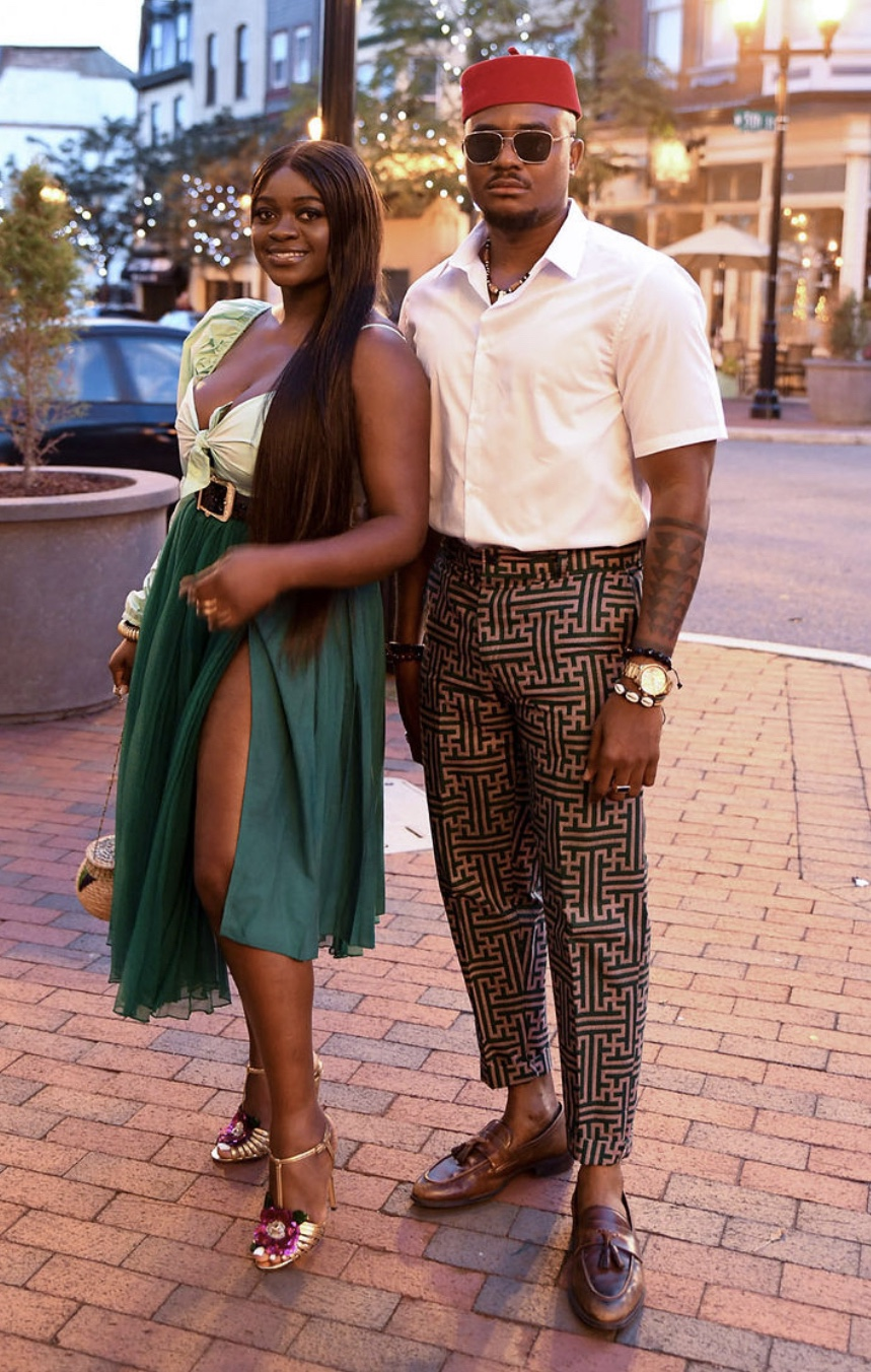 Couple style at the 2019 MFWUSA