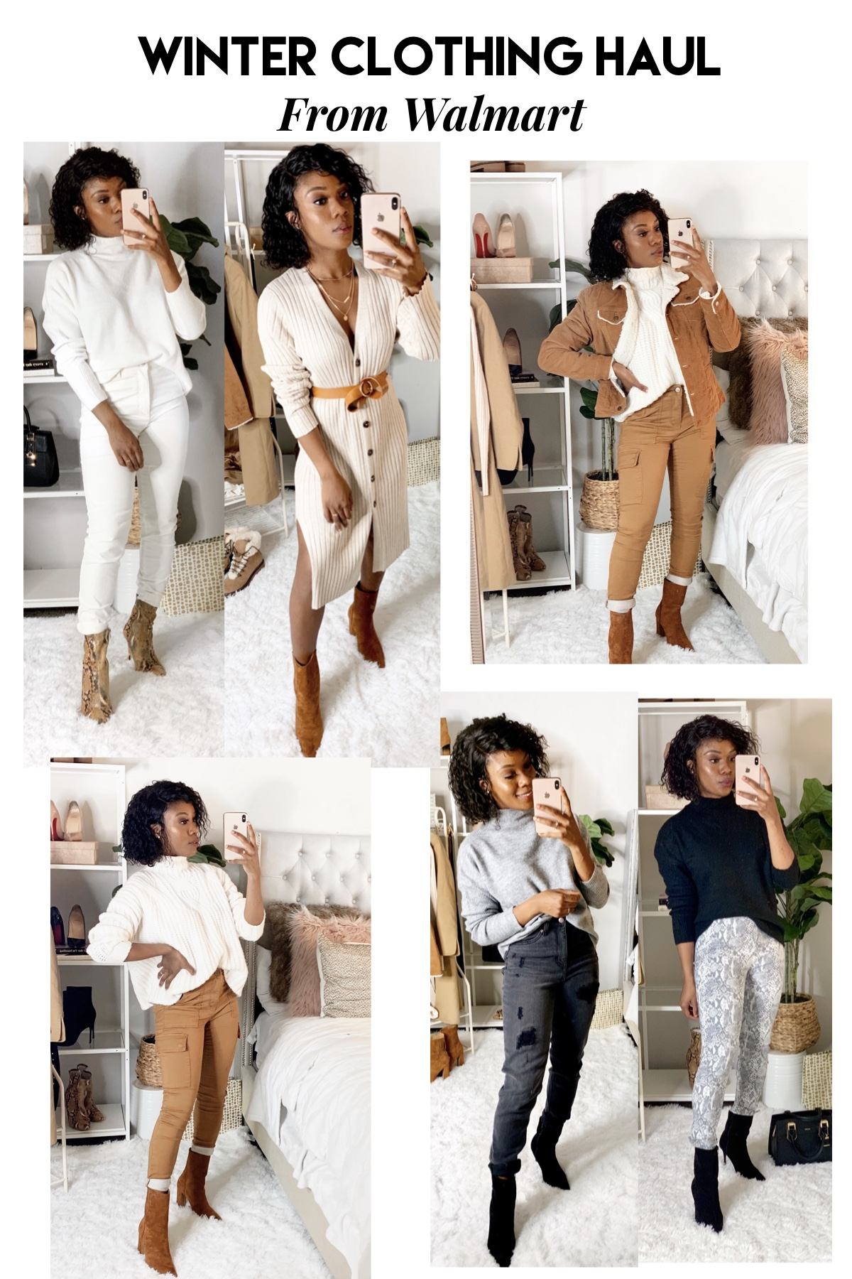 Cute and trendy Fall and Winter clothes from Walmart.
