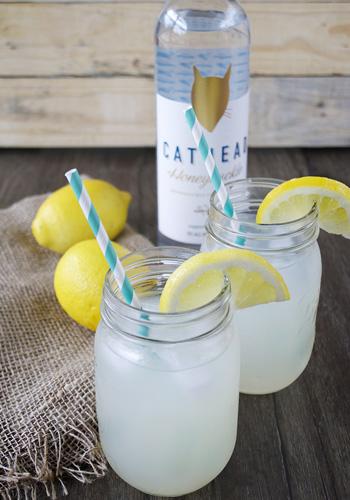 Honeysuckle Lemonade Drink