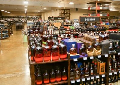 The Bottle Shop overhead