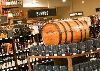 The Bottle Shop overhead-liquor