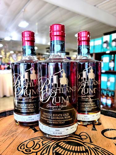 richland rum bottle shop