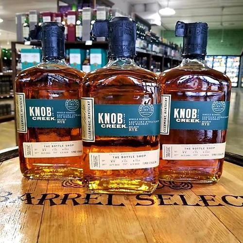 knob creek bottle shop