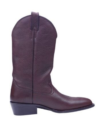 Angelo Galasso Signature Brown Leather Boots