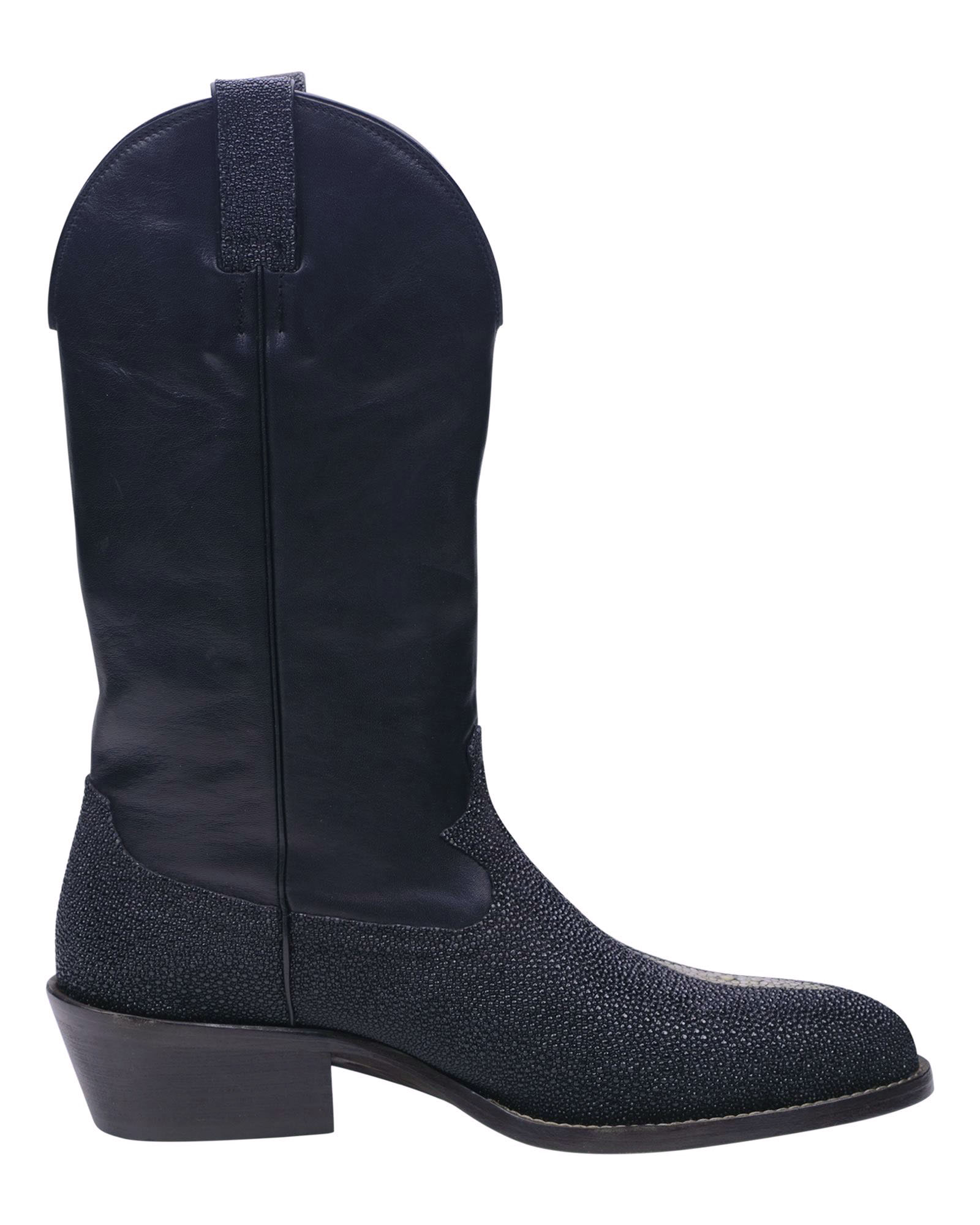 Angelo Galasso Signature Stingray Leather Boots