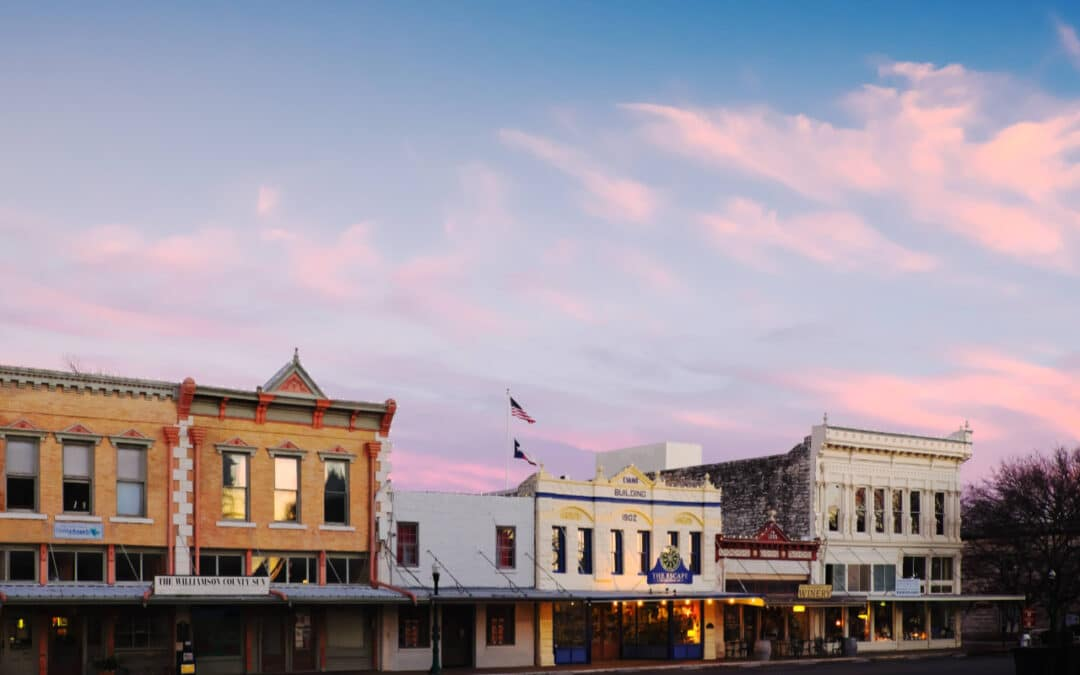 Why You Should Move to Georgetown, TX