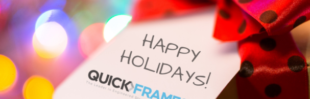Happy Holidays From QuickFrames