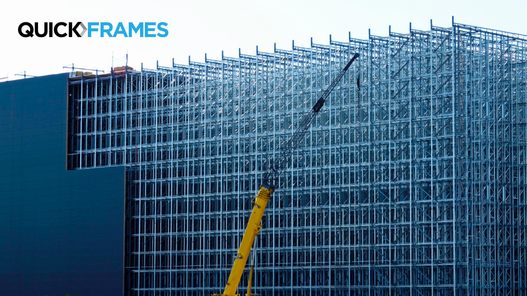 warehouse steel frame construction