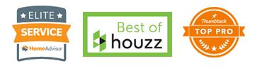 Designer Sam Jernigan has won awards for excellence by Houzz, HomeAdvisor and Thumbtack