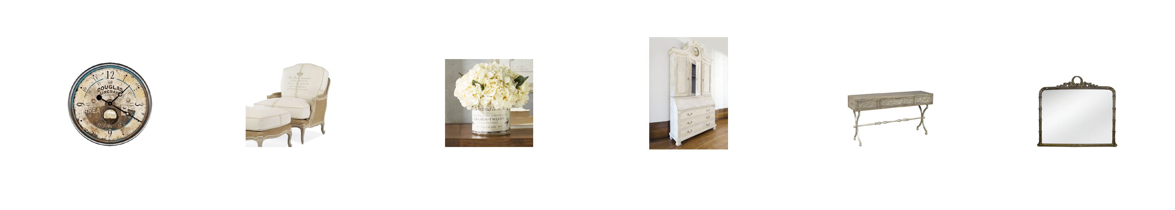 vintage furnishings & accessories