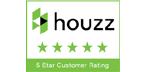 Houzz 5-star customer rating for Sam Jernigan, Renaissance Design Consultations
