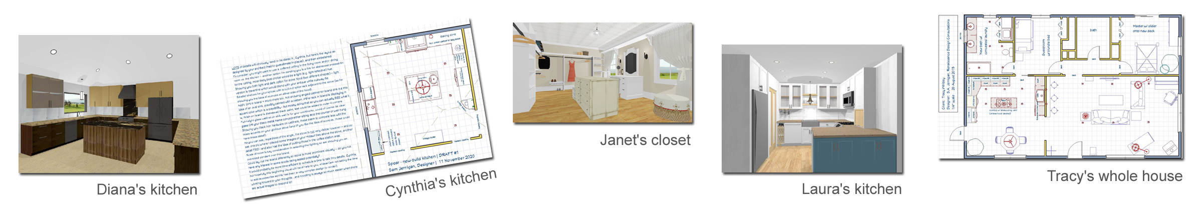 client renderings 2D & 3D by Designer Sam Jernigan