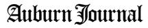 logo for the Auburn Journal newspaper, Auburn, CA