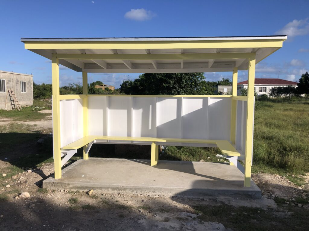 New Bus Stops for Barbuda