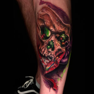 The Best Skull Candy Tattoo in Los Angeles Kyle DeVries