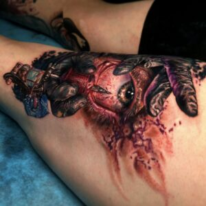 The Best Realistic Eye Tattoo in Los Angeles Kyle DeVries
