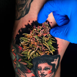 Best Nugget, Kush Tattoo in Los Angeles Kyle DeVries