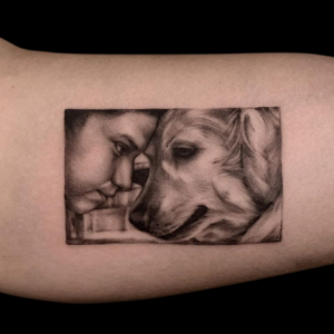 Best Black and Gray Portrait Tattoo In Southern California