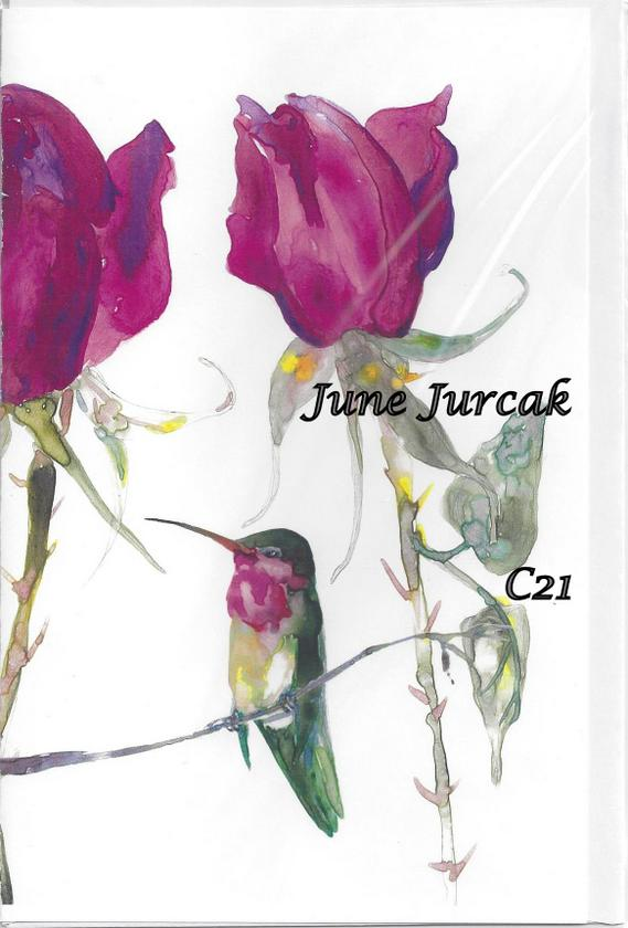 C21 roses hummingbird
