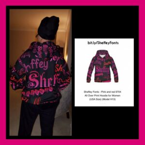 personalized custom color hoodies for her