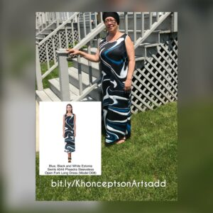 Maxi dress with matching bandana