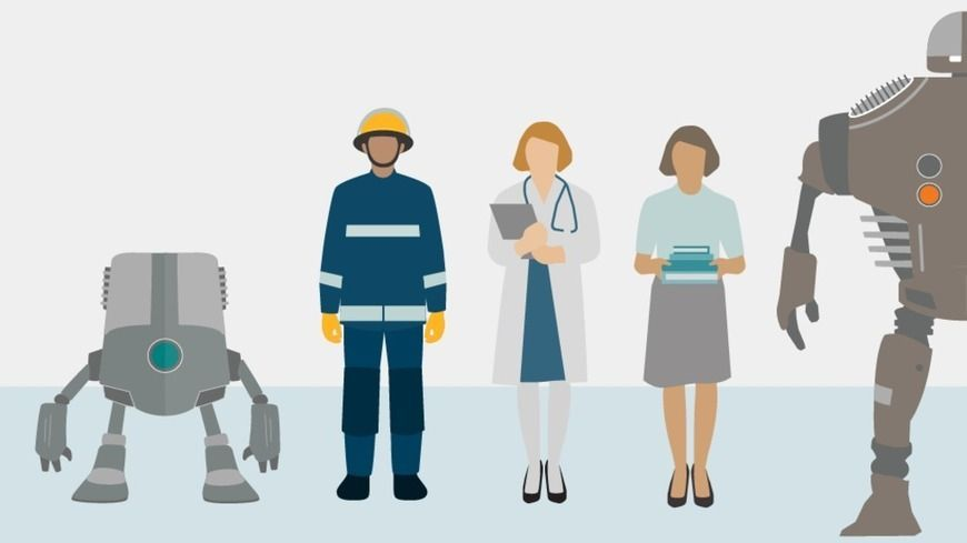 Robots will take old jobs and create new ones, says World Economic Forum