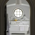 Chic And Luxurious Master Bathroom
