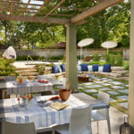 Eclectic And Luxurious Patio