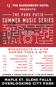 Park Patio Music Series: Tim Rodrique @ Park Patio