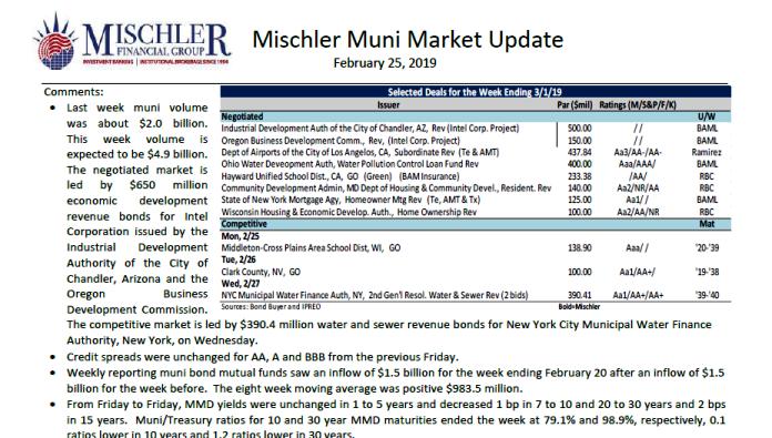 mischler-muni-market-new-issue-calendar-week-022519
