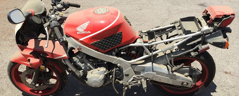 Selling a used motorcycle