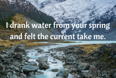 Rumi Water From Your Spring Quotes Meaning