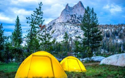 Backpacking Cathedral Lakes in Yosemite National Park