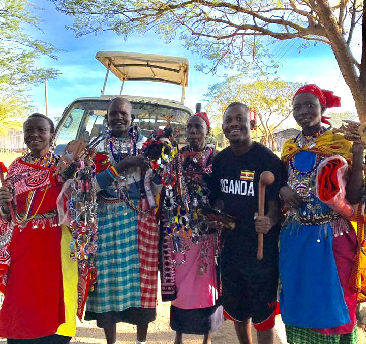 Visiting the Masai Tribal People
