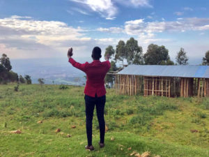 On top of the Mountain at Faith Radio Uganda transmitter - faithradiouganda.org