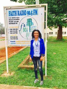 Sharon Okabe Faith Radio banner