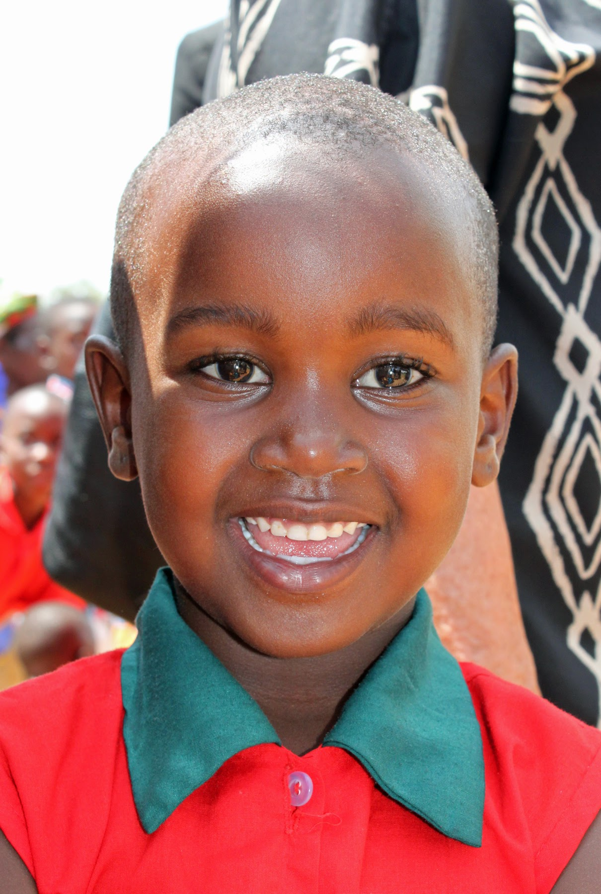 Close up photo of Uganda Orphan