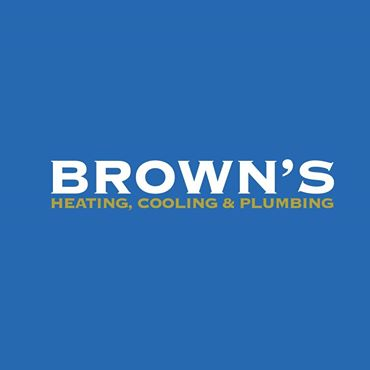 Brown's Heating, Cooling and Plumbing.