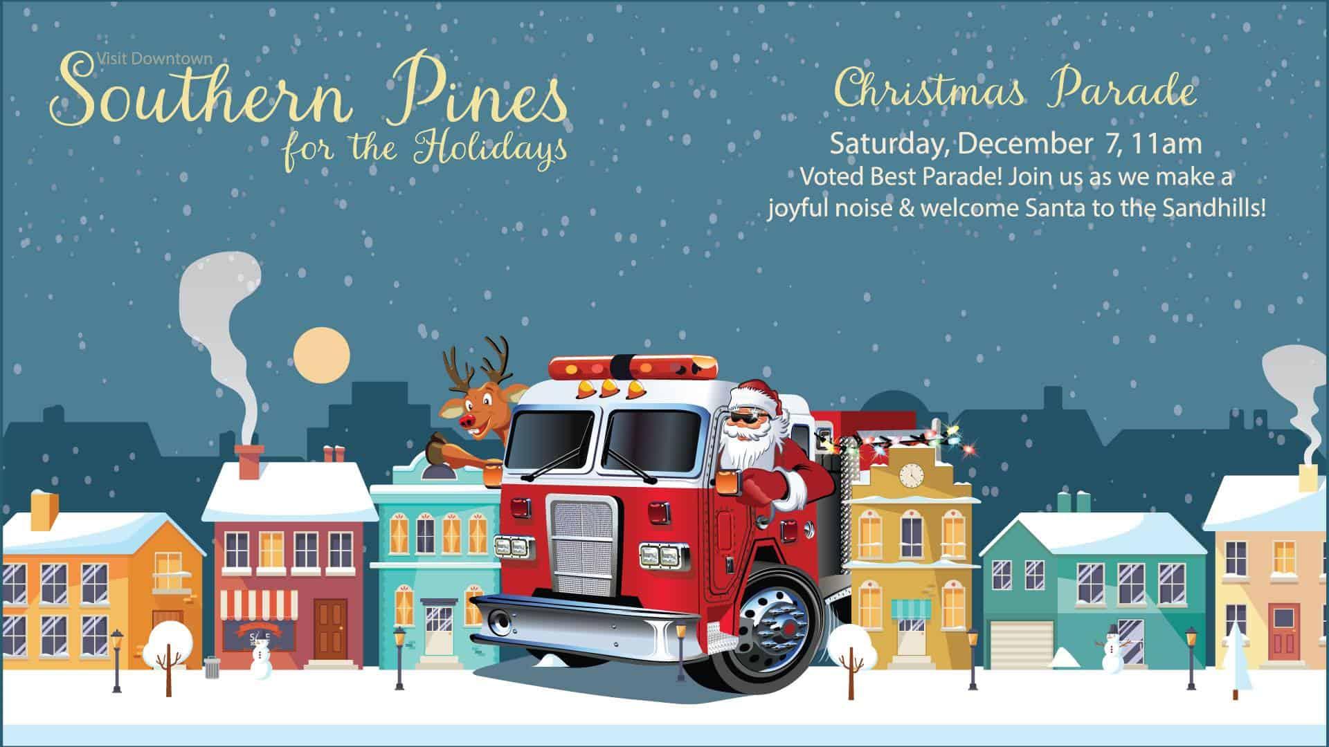 Southern Pines Christmas parade