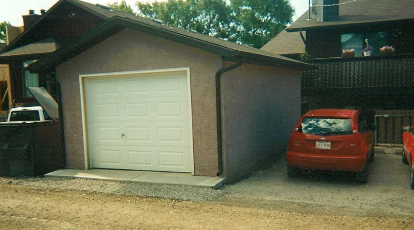 Single Car Garage Calgary
