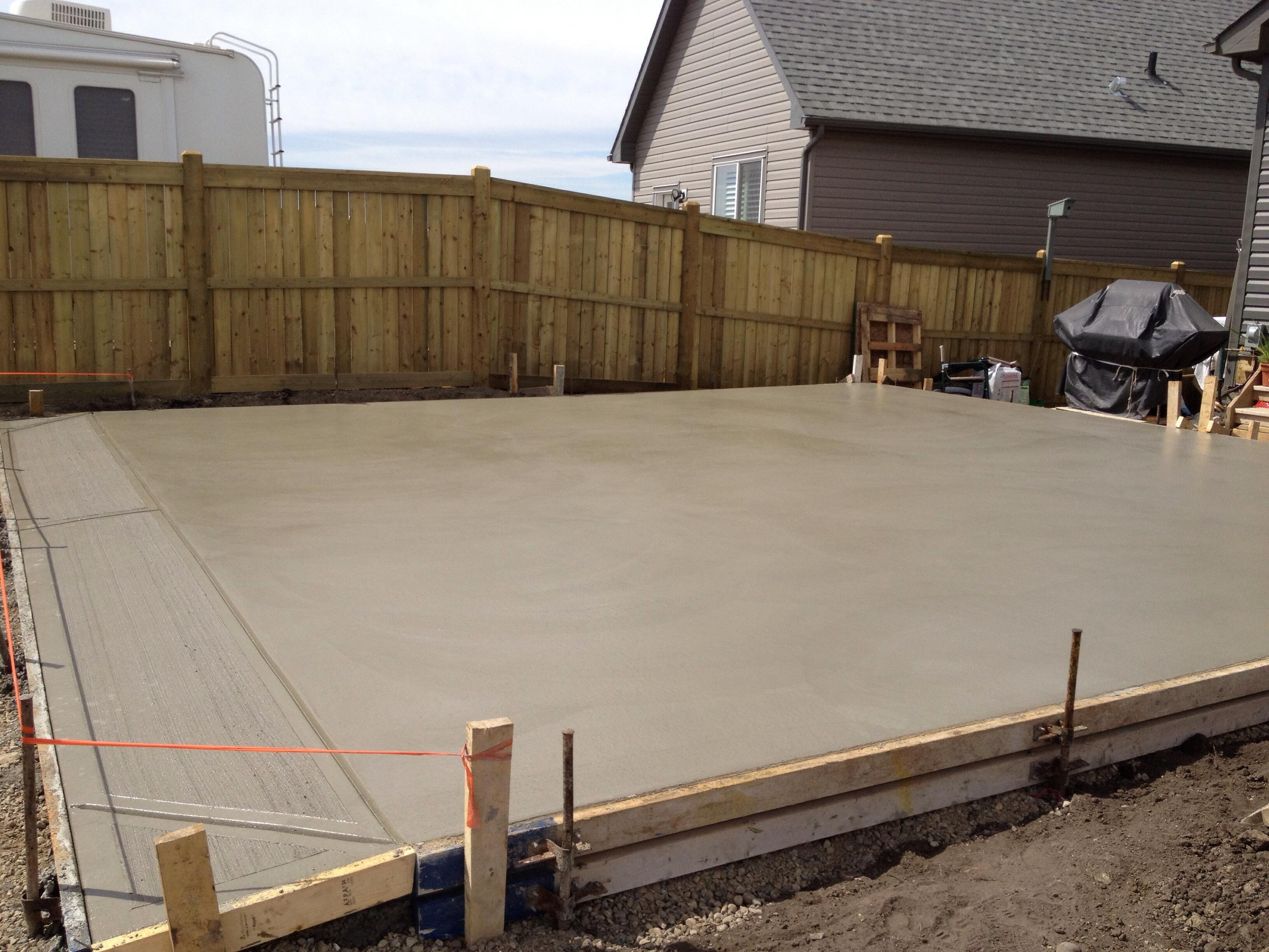 Alberta Garage Pad