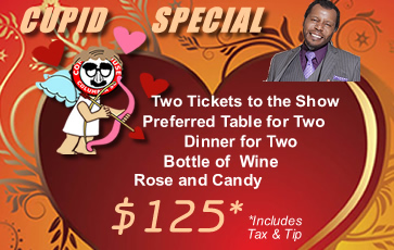 Cupid Special at the Comedy House - WS
