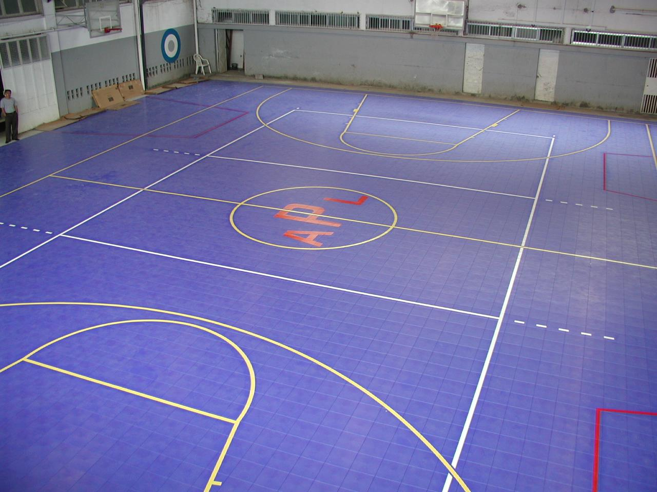 Multi-Use Court Construction