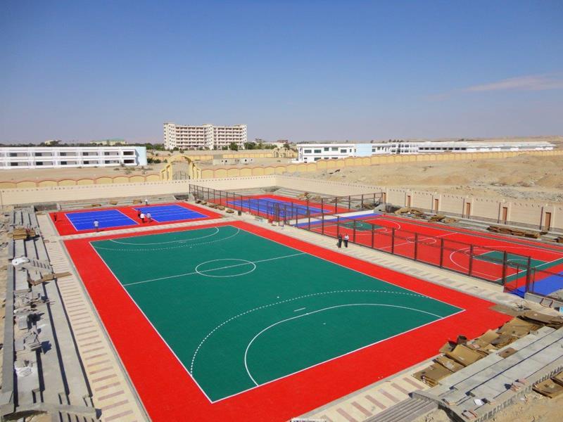 Soccer Field Construction